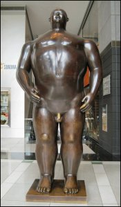 A Botero Sculpture