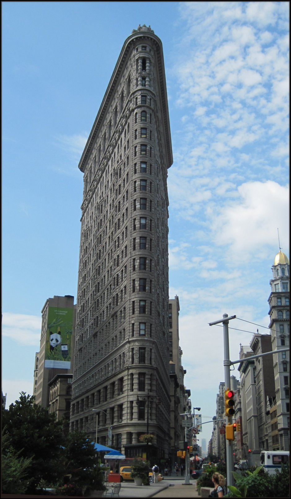 Flatiron Building at 5th Avenue and 23rd St. in Manhattan