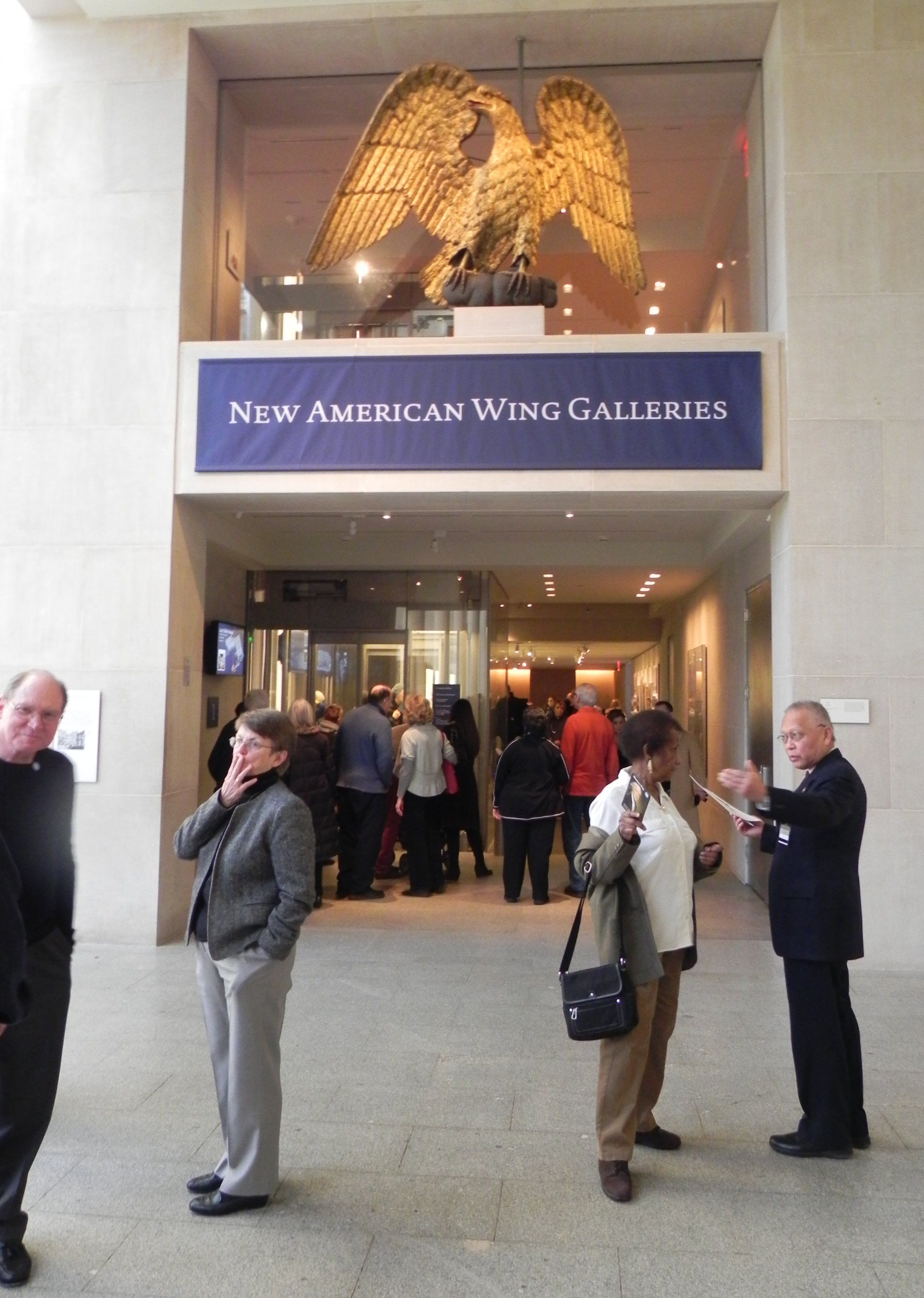 an analysis of the new art of the american wing Follow the stock market today on thestreet get business news that moves markets, award-winning stock analysis, market data and stock trading ideas.