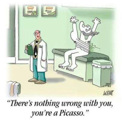 picassoCartoon