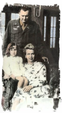Mother, Father and myself (age 4) in Germany in 1946
