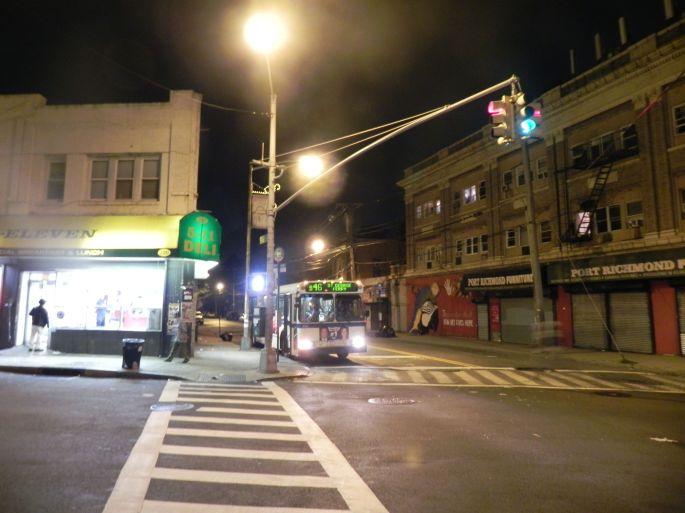 Castleton Avenue and Port Richmond Avenue.  The main intersection of Port Richmond.