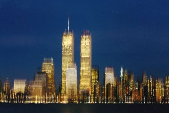 The Twin Towers  aka The World Trade Center, destroyed 9/11/2001