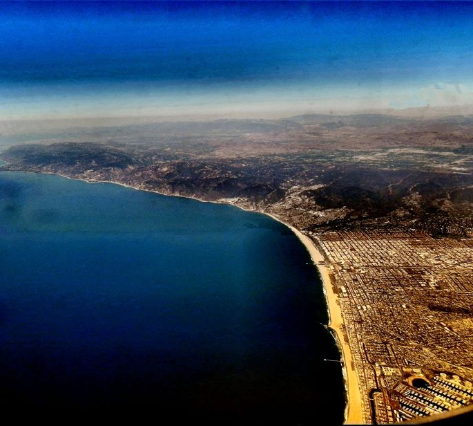Santa Monica Bay from the Air