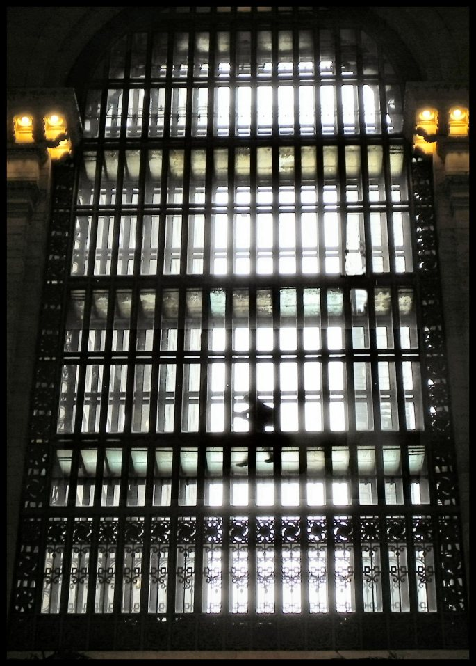 Window at Grand Central Station, NYC