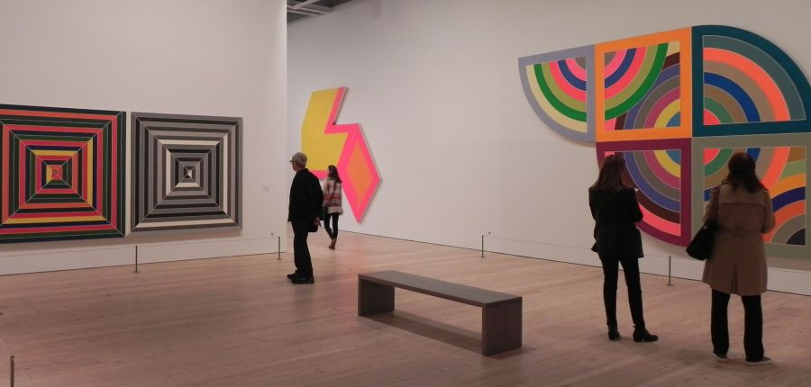 Frank Stella at the Whitney Oct