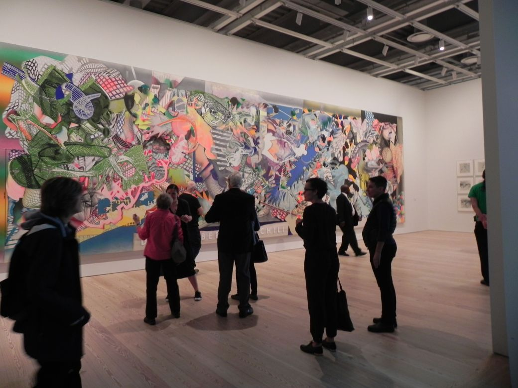 Frank Stella at the Whitney