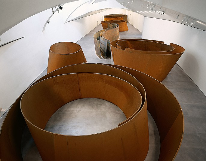 Richard Serra, The Matter of Time (2005). Image: Guggenhiem Bilbao Museoa 2015, Richard Serra Arts Rights Society (ARS) New York.