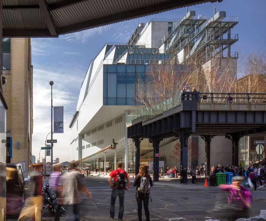 My latest hangout in Manhattan.  The New Whitney Museum of American Art.  Opened 5/1/2015.  Member since 5/1/2015.